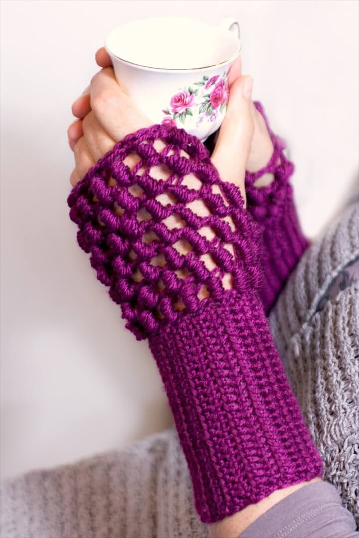 Crochet Gloves Beautiful 20 Easy Crochet Fingerless Gloves Pattern Of Amazing 45 Ideas Crochet Gloves