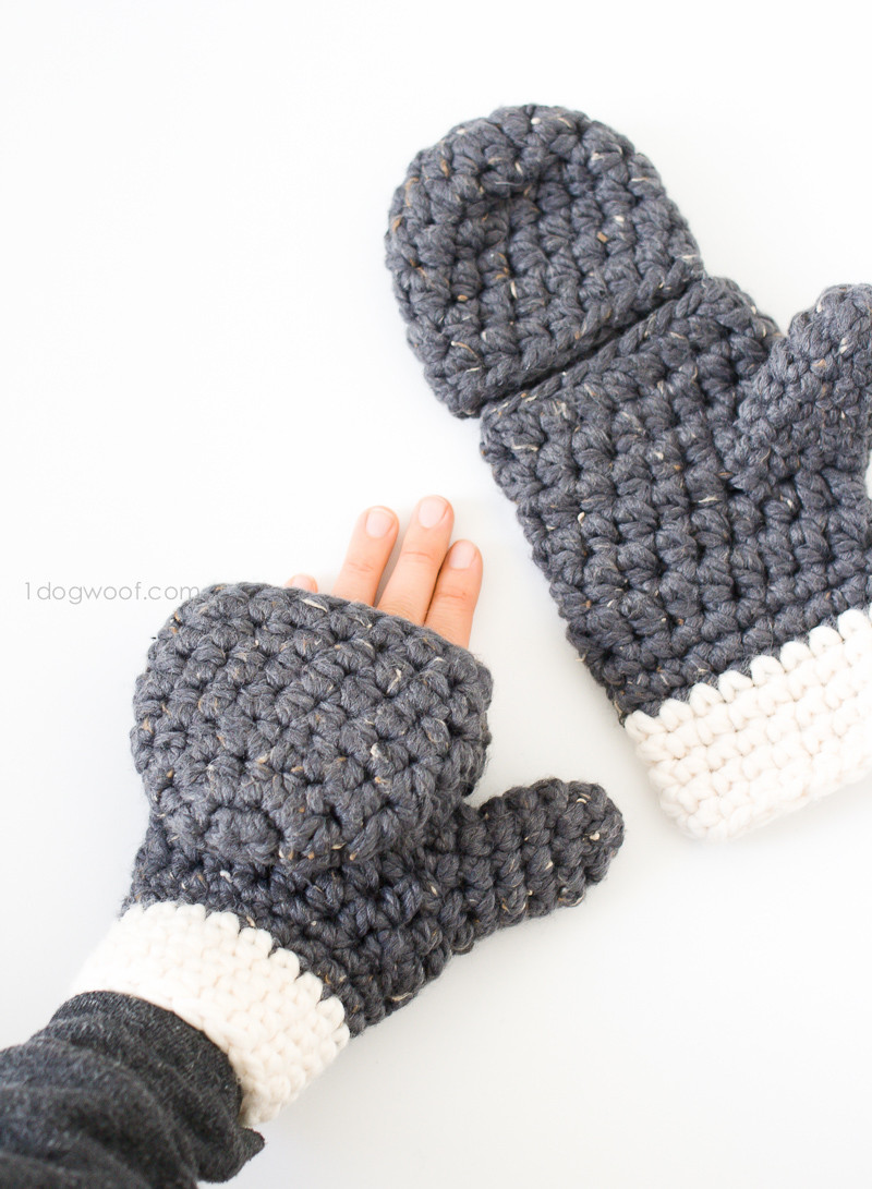 Crochet Gloves Best Of 15 Easy Crochet Mitten Patterns even Beginners Can Make Of Amazing 45 Ideas Crochet Gloves