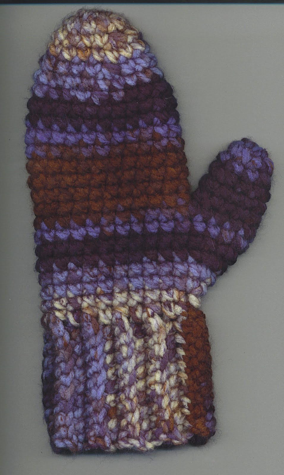 Crochet Gloves Unique Crocheted Mitten Pattern Of Amazing 45 Ideas Crochet Gloves