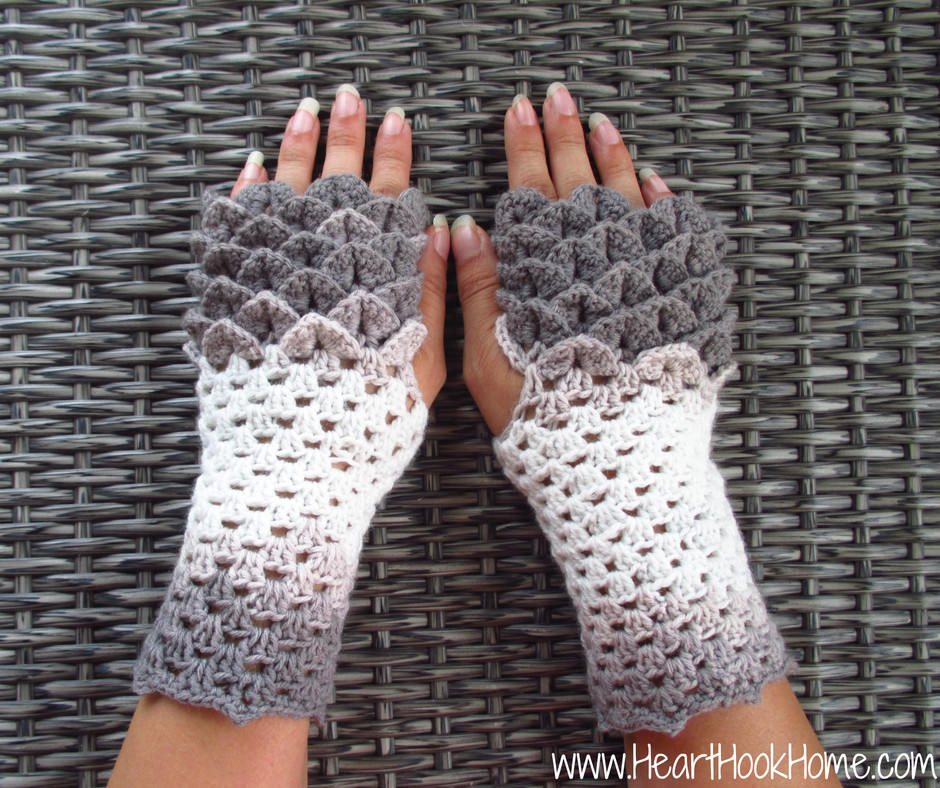 Crochet Gloves Unique Dragon Tears Fingerless Gloves Crochet Pattern Heart Of Amazing 45 Ideas Crochet Gloves