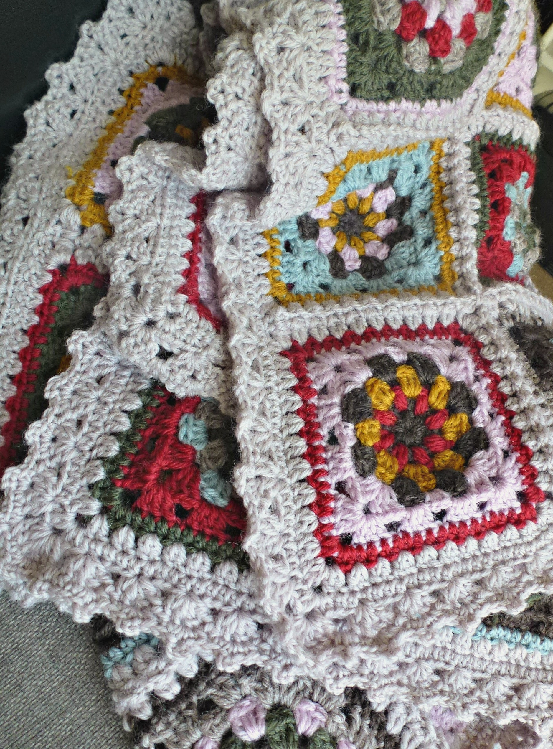 Crochet Granny Blanket Beautiful Lily's Lilypad Fireplace Blanket – Zeens and Roger Of Amazing 47 Ideas Crochet Granny Blanket