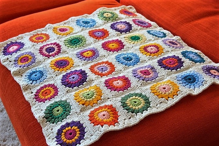 Crochet Granny Square Baby Blanket New Easy & Free Granny Square Patterns Of Incredible 47 Pics Crochet Granny Square Baby Blanket