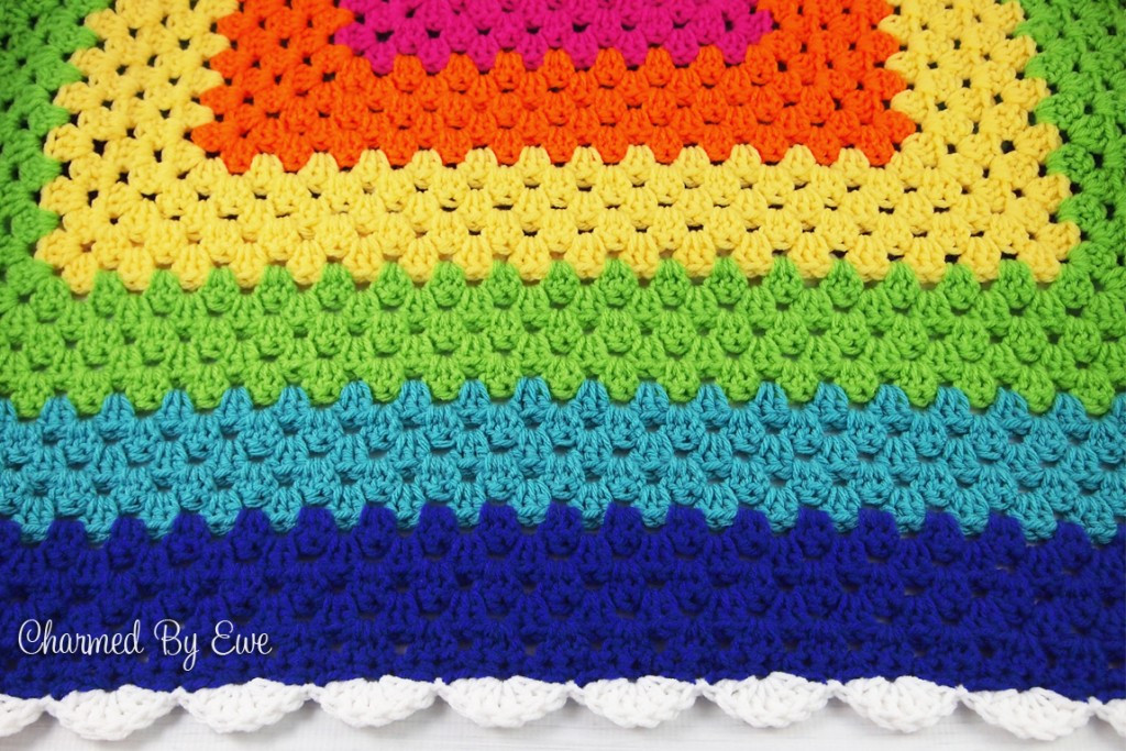 Crochet Granny Square Blanket Patterns Free Awesome Rainbow Granny Square Throw Of Amazing 42 Ideas Crochet Granny Square Blanket Patterns Free