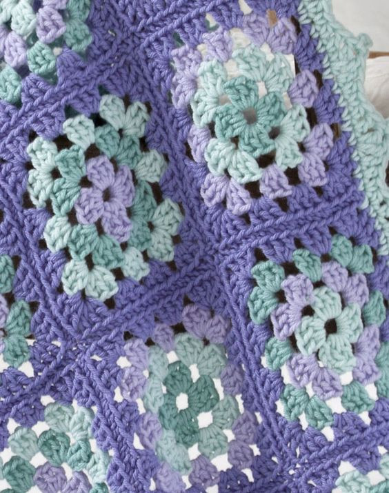 Crochet Granny Square Blanket Patterns Free Best Of [ Easy ] Lullaby Granny Square – Crochet Baby Blanket Of Amazing 42 Ideas Crochet Granny Square Blanket Patterns Free