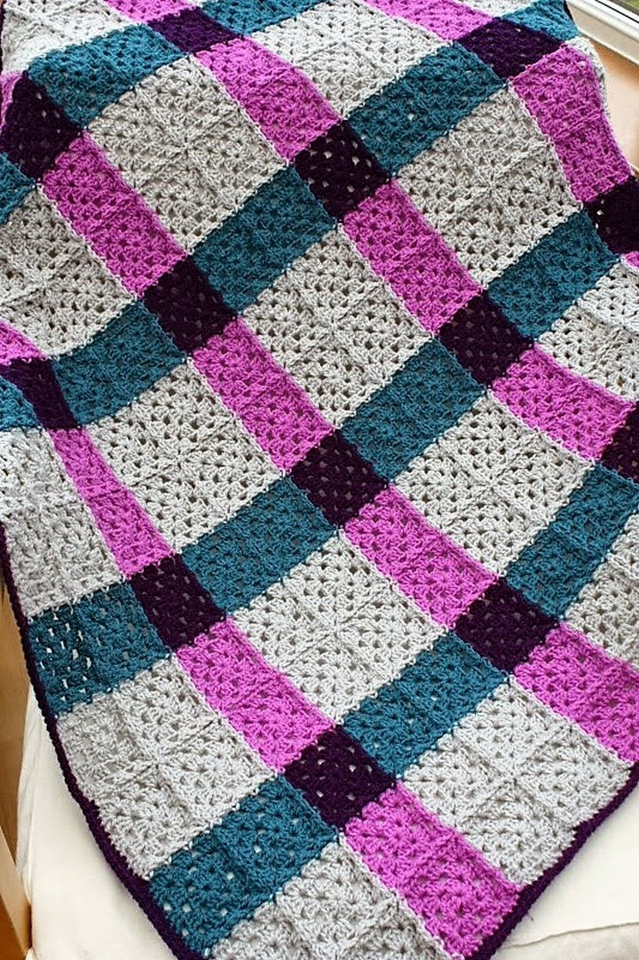 Crochet Granny Square Blanket Patterns Free Lovely Easy & Free Granny Square Patterns Of Amazing 42 Ideas Crochet Granny Square Blanket Patterns Free