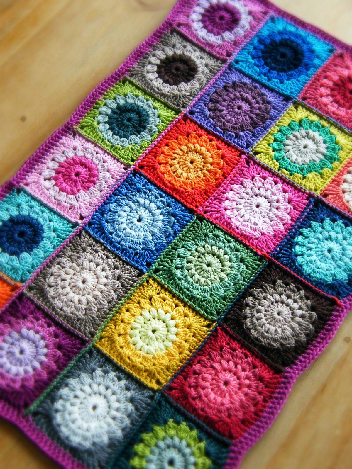 Crochet Granny Square Blanket Patterns Free Lovely Sunburst Granny Squares Pattern by Priscilla Hewitt Of Amazing 42 Ideas Crochet Granny Square Blanket Patterns Free