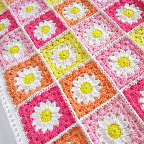 Crochet Granny Square Blanket Patterns Free Luxury Crochet Daisy Granny Square Blanket Free Pattern Of Amazing 42 Ideas Crochet Granny Square Blanket Patterns Free