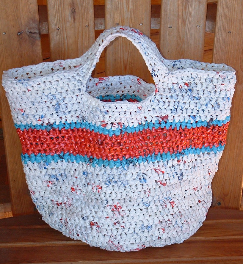 Crochet Grocery Bags Awesome Recycled Round Grocery tote Bag Of New 45 Pictures Crochet Grocery Bags