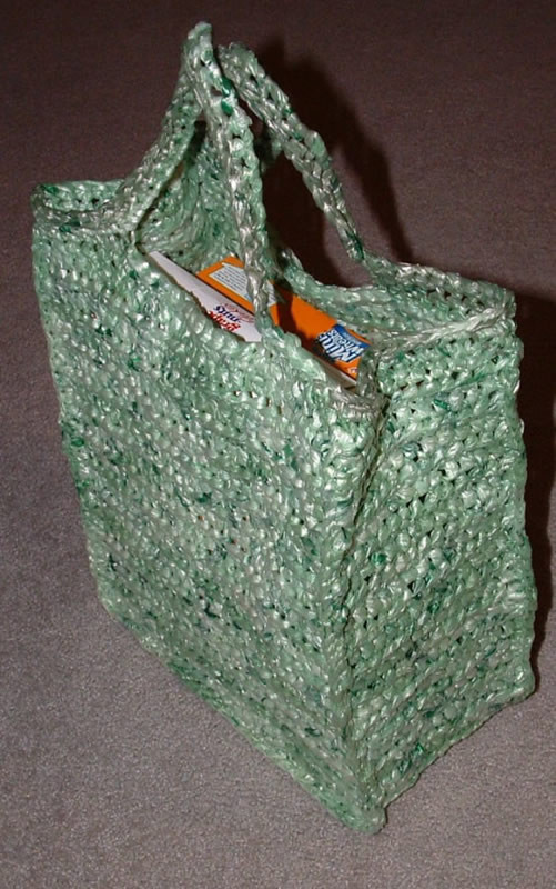 Crochet Grocery Bags Awesome the Green Shopping Bag Of New 45 Pictures Crochet Grocery Bags