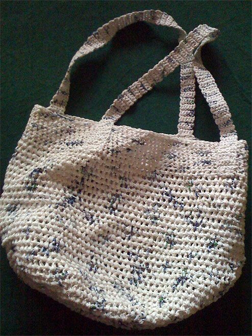 Crochet Grocery Bags Beautiful Crochet A Shoulder tote From Grocery Bags Of New 45 Pictures Crochet Grocery Bags