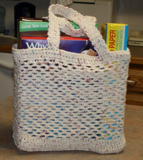 Crochet Grocery Bags Lovely Free Crochet Pattern Grocery tote Dancox for Of New 45 Pictures Crochet Grocery Bags