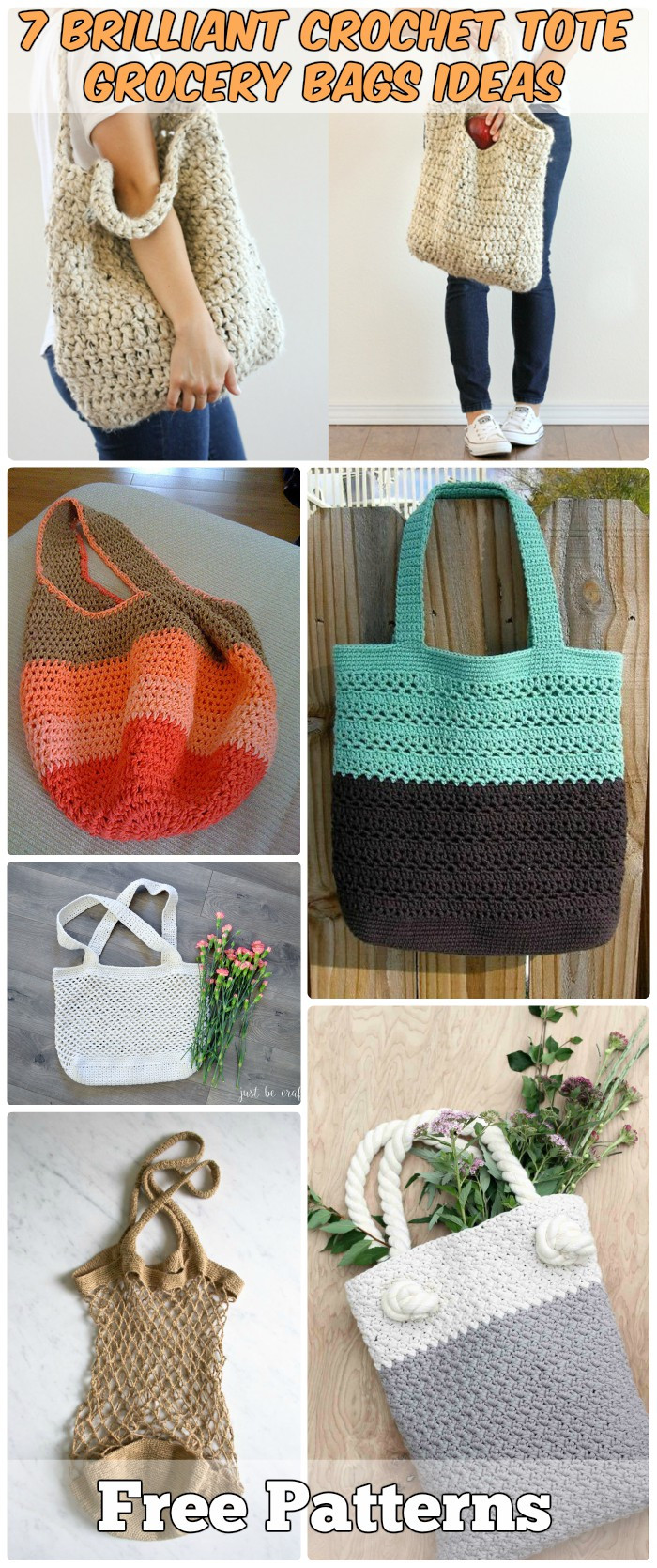 Crochet Grocery Bags Luxury 5 Crochet Grocery Bags Ideas Free Patterns Of New 45 Pictures Crochet Grocery Bags