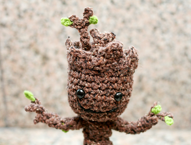 Crochet Groot Best Of Crochet Your Own Baby Groot – Ani & Izzy Of Contemporary 42 Images Crochet Groot