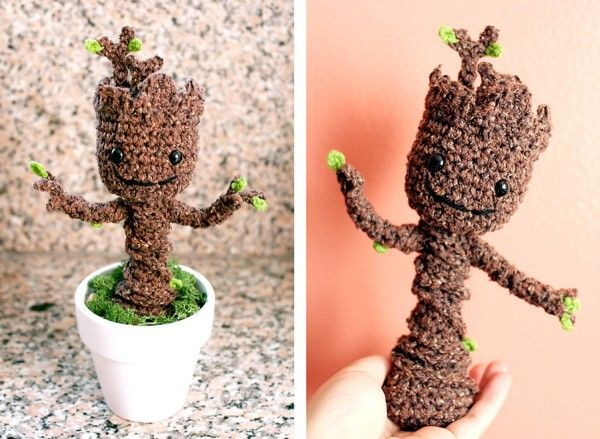 Crochet Groot Fresh Crochet Your Very Own Posable Baby Groot Of Contemporary 42 Images Crochet Groot