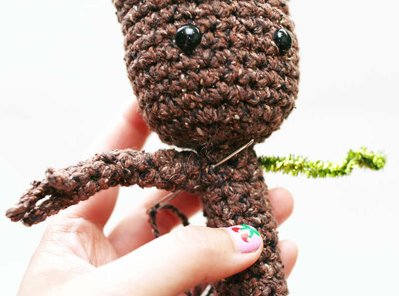 Crochet Groot Luxury Free Crochet Pattern Potted Baby Groot From Guardians Of Of Contemporary 42 Images Crochet Groot