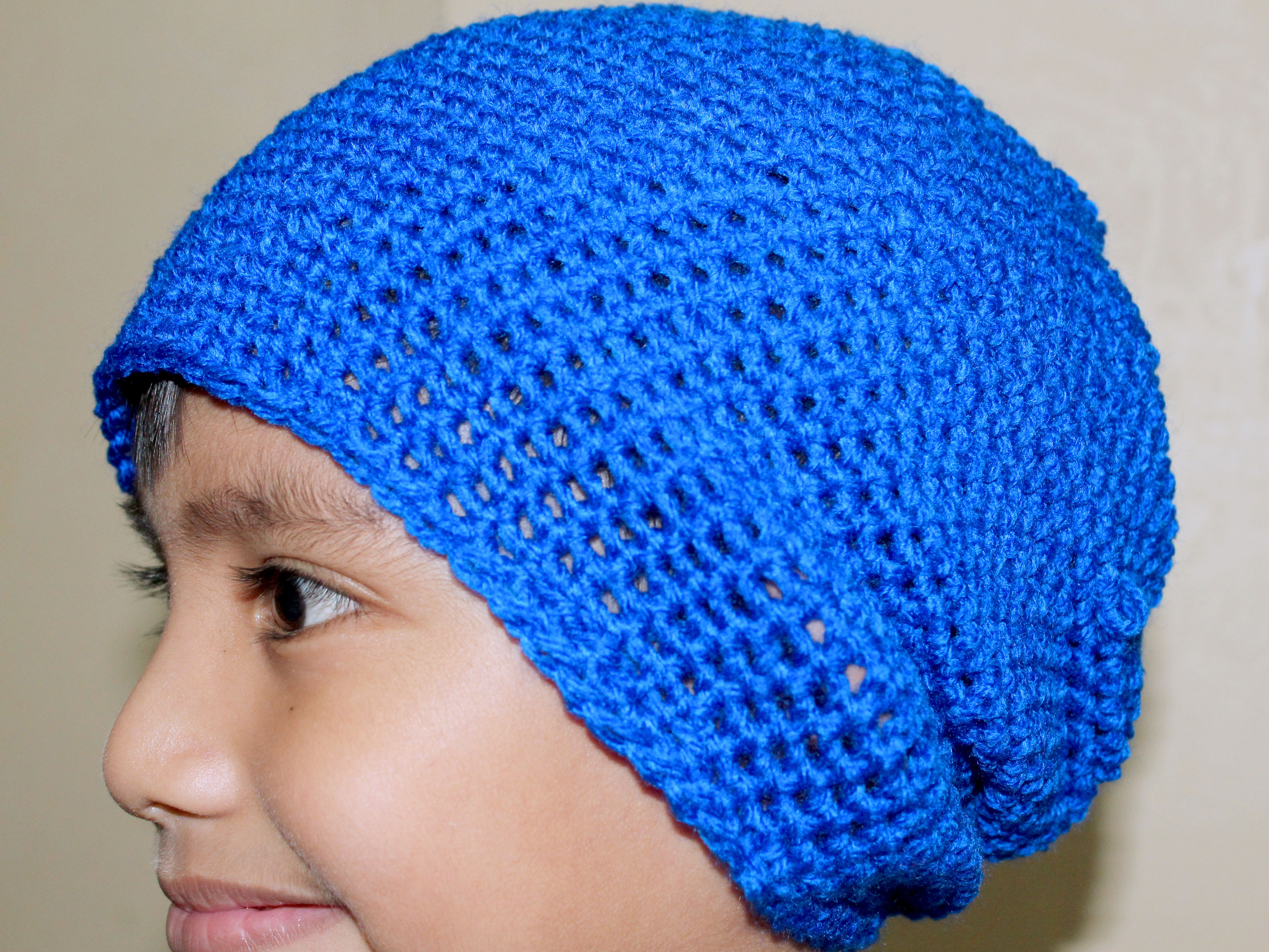 How to Crochet a Hat for Beginners with