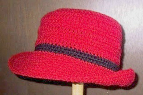 Crochet Hat with Brim Best Of Making Crocheted Rolled Brim Hat Of Marvelous 46 Ideas Crochet Hat with Brim