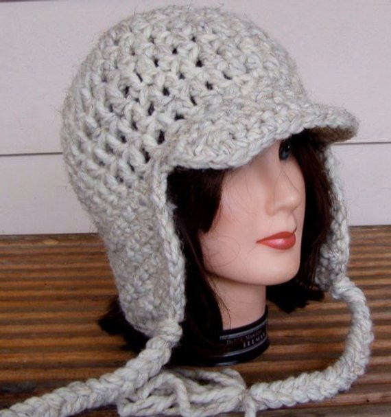 Crochet Hat with Ear Flaps Best Of 2 Crochet Patterns for Hat with Ear Flaps and Ties Pdf Of Delightful 50 Pictures Crochet Hat with Ear Flaps