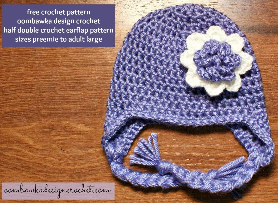Crochet Hat with Ear Flaps Lovely Keep Your Ears Covered This Winter with This Simple Of Delightful 50 Pictures Crochet Hat with Ear Flaps
