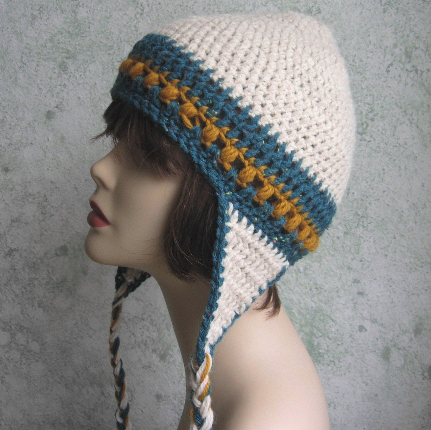 Crochet Hat with Ear Flaps New Womens Crochet Hat Pattern with Earflaps Instant by Of Delightful 50 Pictures Crochet Hat with Ear Flaps