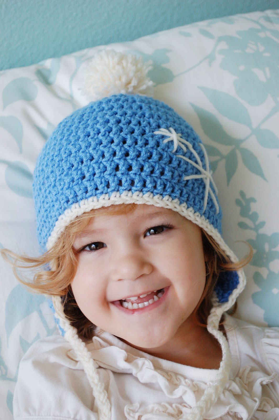 free crochet patterns for baby hats with ear flaps
