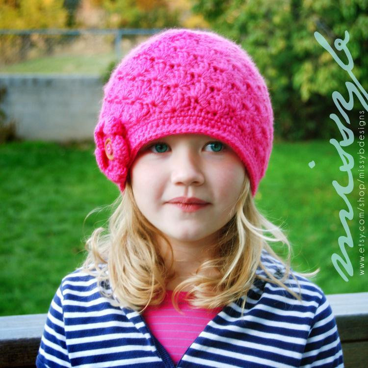 Crochet Hats for Kids Unique You Have to See Easy Shell Hat for Kids by Melissabastow Of New 45 Ideas Crochet Hats for Kids