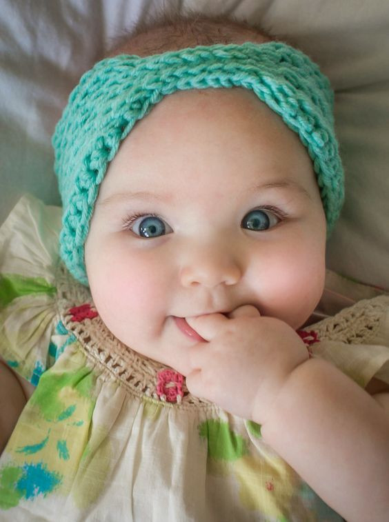 Crochet Headbands for Babies New Little Everly Headwrap Free Pattern From Mamachee Of Incredible 46 Models Crochet Headbands for Babies