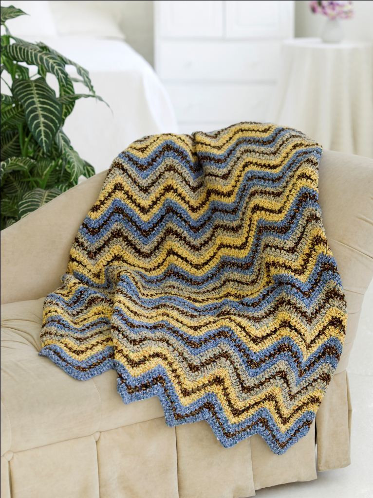 Crochet Heart Afghan Best Of Ripple Throw Free Crochet Pattern Of Adorable 47 Pictures Crochet Heart Afghan