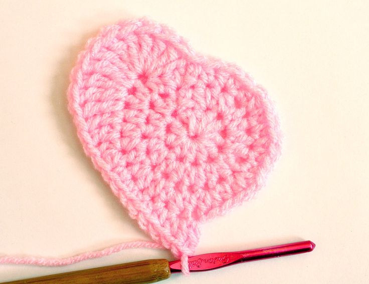 Crochet Heart Pattern Lovely 1000 Images About Love is All You Need Valentines On Of Wonderful 40 Models Crochet Heart Pattern