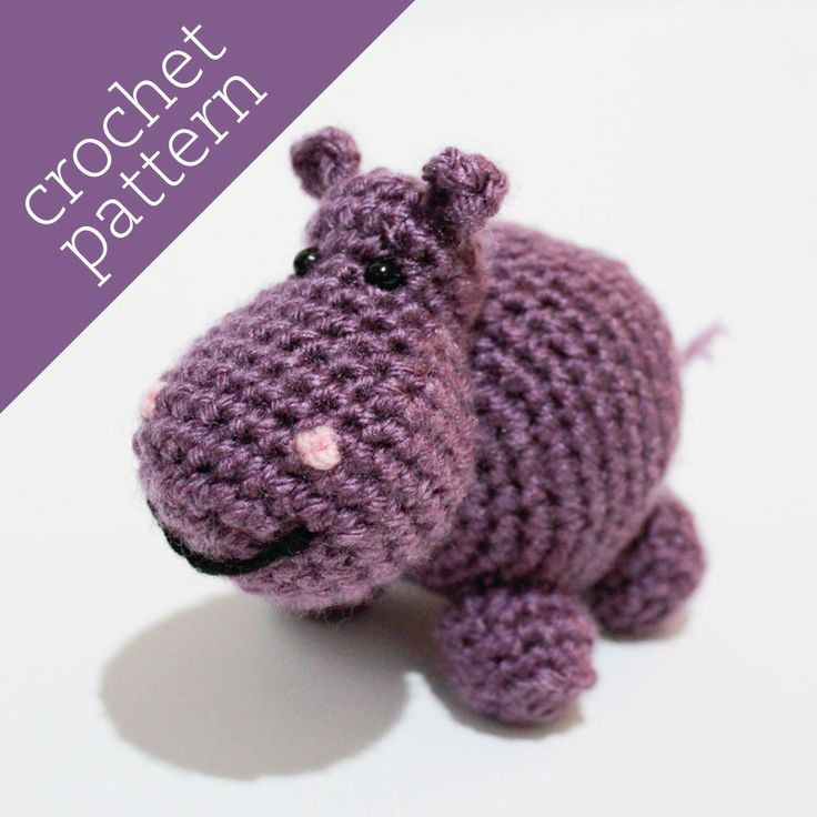 Crochet Hippo Pattern Free Beautiful 1000 Images About Crochet Hippos On Pinterest Of Awesome 40 Pics Crochet Hippo Pattern Free