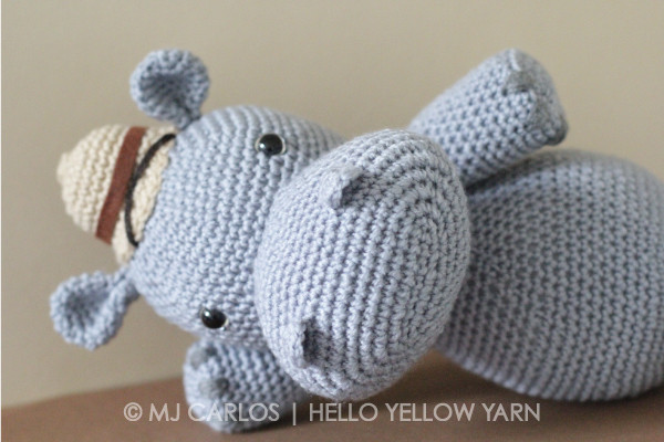 Crochet Hippo Pattern Free Fresh Crochet Amigurumi Hippo – Harvey Hippo Of Awesome 40 Pics Crochet Hippo Pattern Free