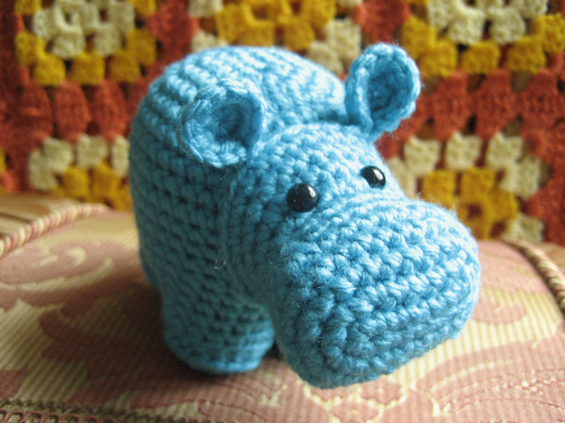 Crochet Hippo Pattern Free Fresh It's A Hippo – Ms Premise Conclusion Of Awesome 40 Pics Crochet Hippo Pattern Free
