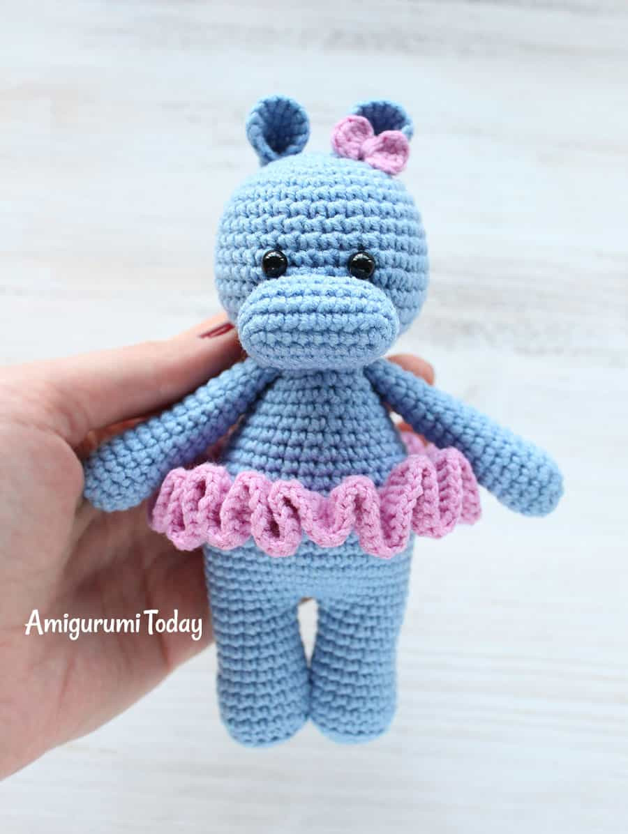 Crochet Hippo Pattern Free Inspirational Cuddle Me Hippo Amigurumi Pattern Amigurumi today Of Awesome 40 Pics Crochet Hippo Pattern Free