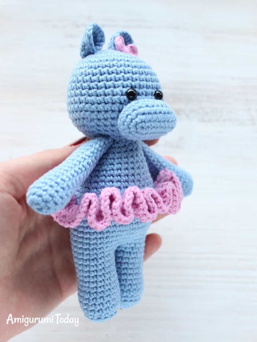 Cuddle Me Hippo amigurumi pattern Amigurumi Today