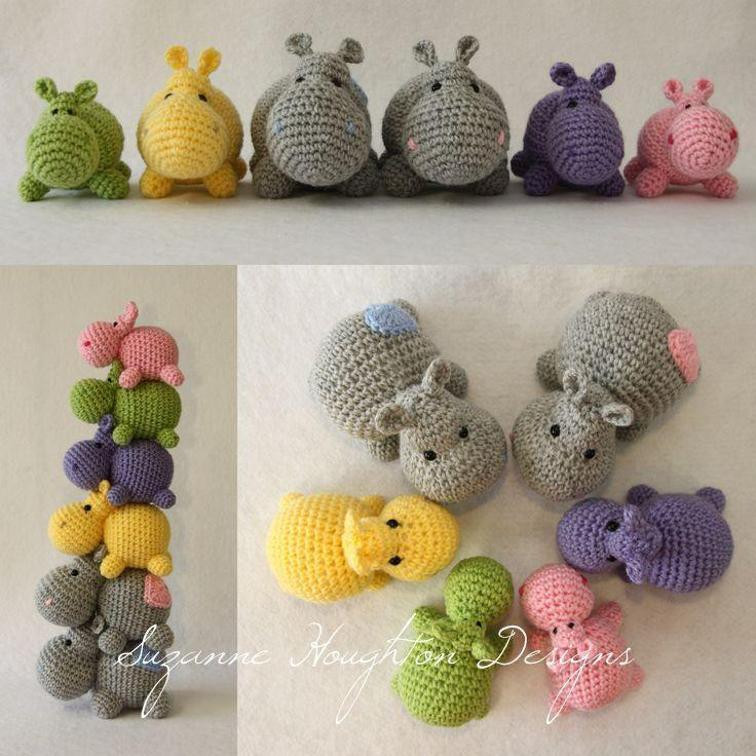 Crochet Hippo Pattern Free New Cute Hippo Amigurumi Crochet Patterns Of Awesome 40 Pics Crochet Hippo Pattern Free