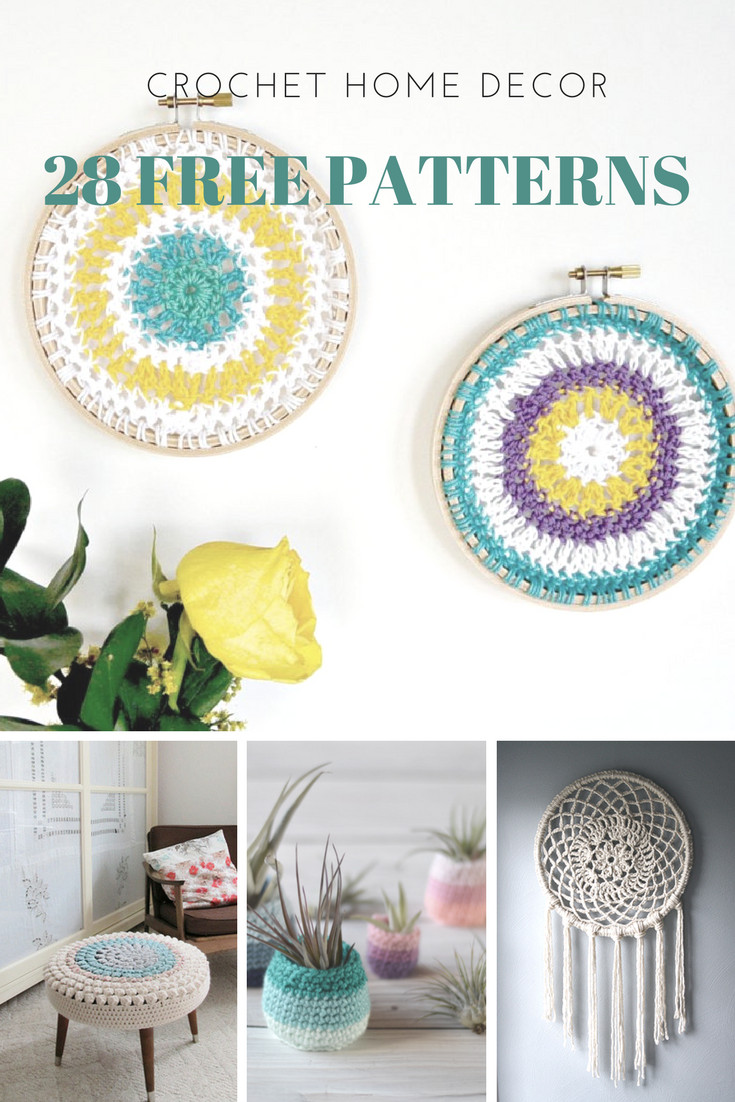 Crochet Home Decor Elegant Home Decor 28 Free Crochet Patterns – Picot Pals Of Amazing 43 Pics Crochet Home Decor