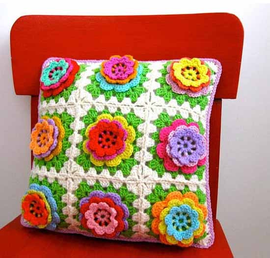 Knitting and Crochet for Home Decor Handicrafts Trend in