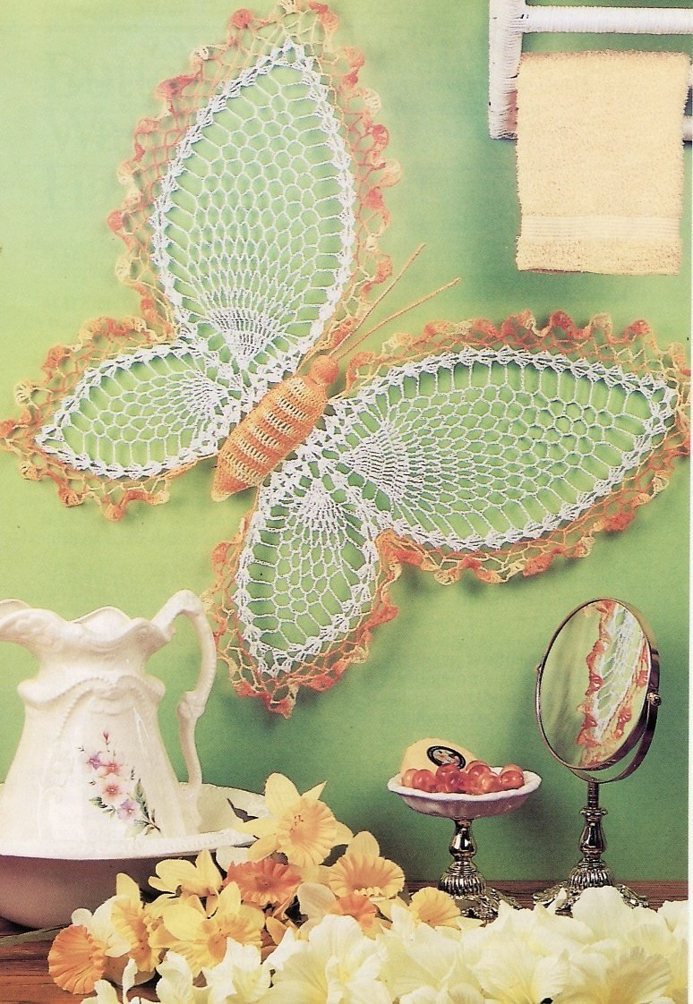 Crochet Home Decor Fresh butterfly Wall Hanging Crochet Pattern & Daffodil Wreath Of Amazing 43 Pics Crochet Home Decor