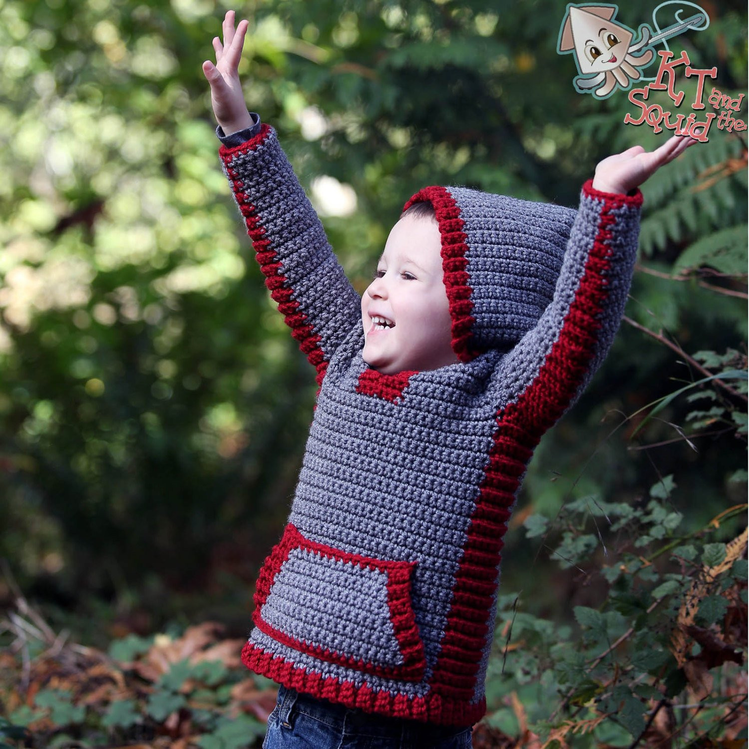 Crochet Hoodie Awesome Crochet Pattern Crochet Childrens Sweater Boys Hoo Girls Of Awesome 43 Images Crochet Hoodie