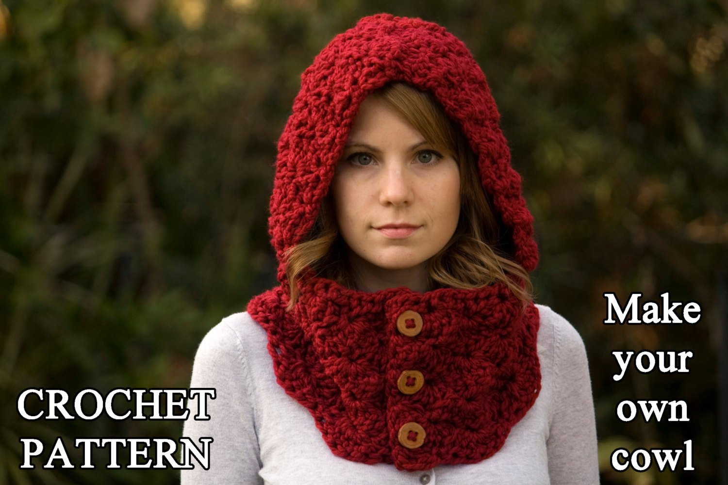 Crochet Hoodie Awesome Crochet Pattern Hooded Cowl button Neck Warmer Crochet Of Awesome 43 Images Crochet Hoodie