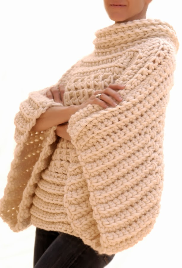 Crochet Hoodie Beautiful Knit 1 La the Crochet Brioche Sweater Of Awesome 43 Images Crochet Hoodie