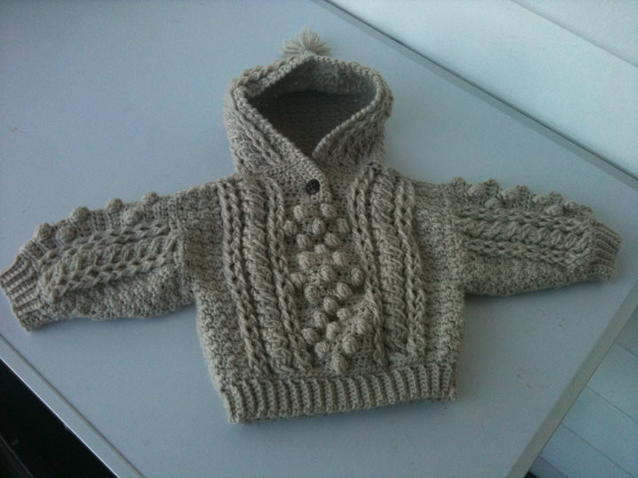 Crochet Hoodie Fresh Crochet Baby Hooded Aran Sweater Cottage Guardian Of Awesome 43 Images Crochet Hoodie