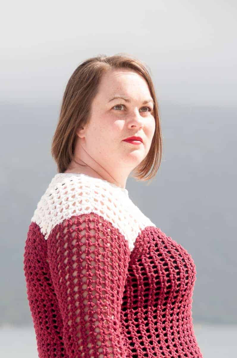 Motu Sweater Crochet Pattern • Easy Crochet Pattern • Joy