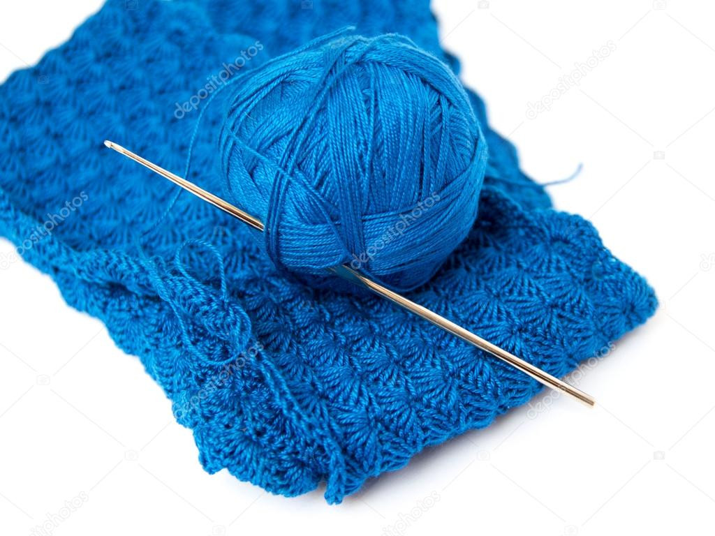 Crochet Hook and Yarn Inspirational Blue Yarn Ball and Crochet Hook — Stock © Karissaa Of Superb 44 Images Crochet Hook and Yarn
