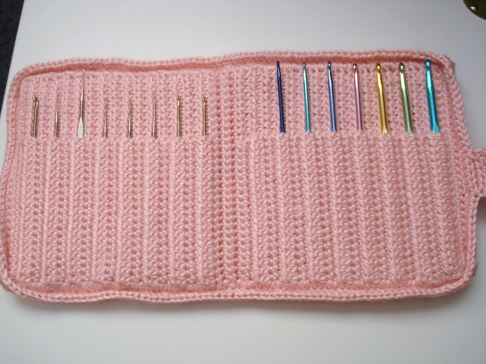 Crochet Hook Cases Best Of Adrialys Handmade Creations Finished Crochet Hook Case Of Beautiful 49 Pictures Crochet Hook Cases
