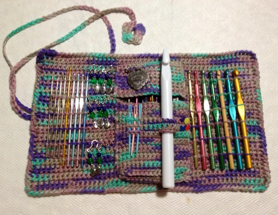 Crochet Hook Cases Luxury You Have to See Crochet Hook Case by Crochet4fun Of Beautiful 49 Pictures Crochet Hook Cases