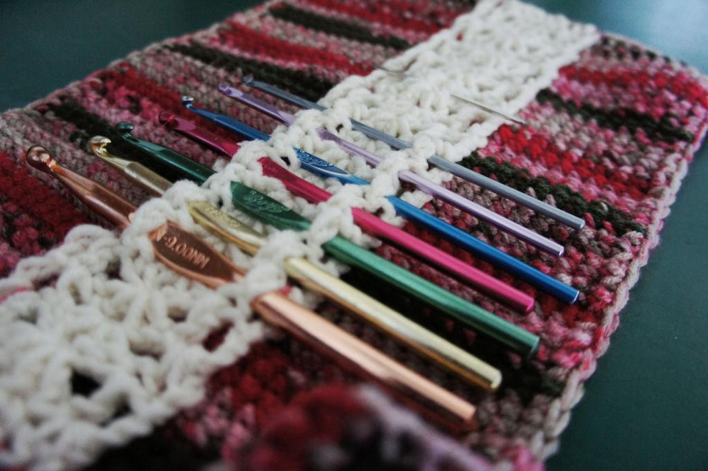 You have to see Crochet Hook Organizer on Craftsy