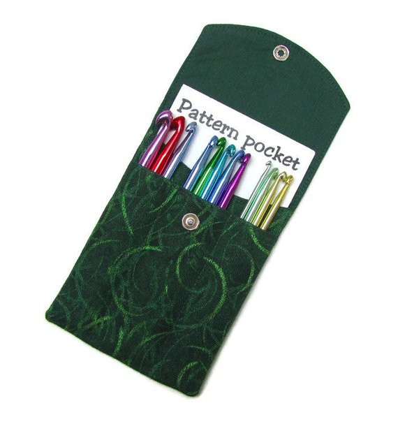 CROCHET HOOK CASE crochet wallet organizer needle