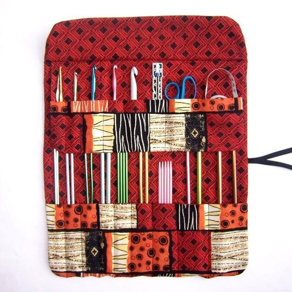 Knitting Needle Storage Holder Crochet Hook Case Organizer