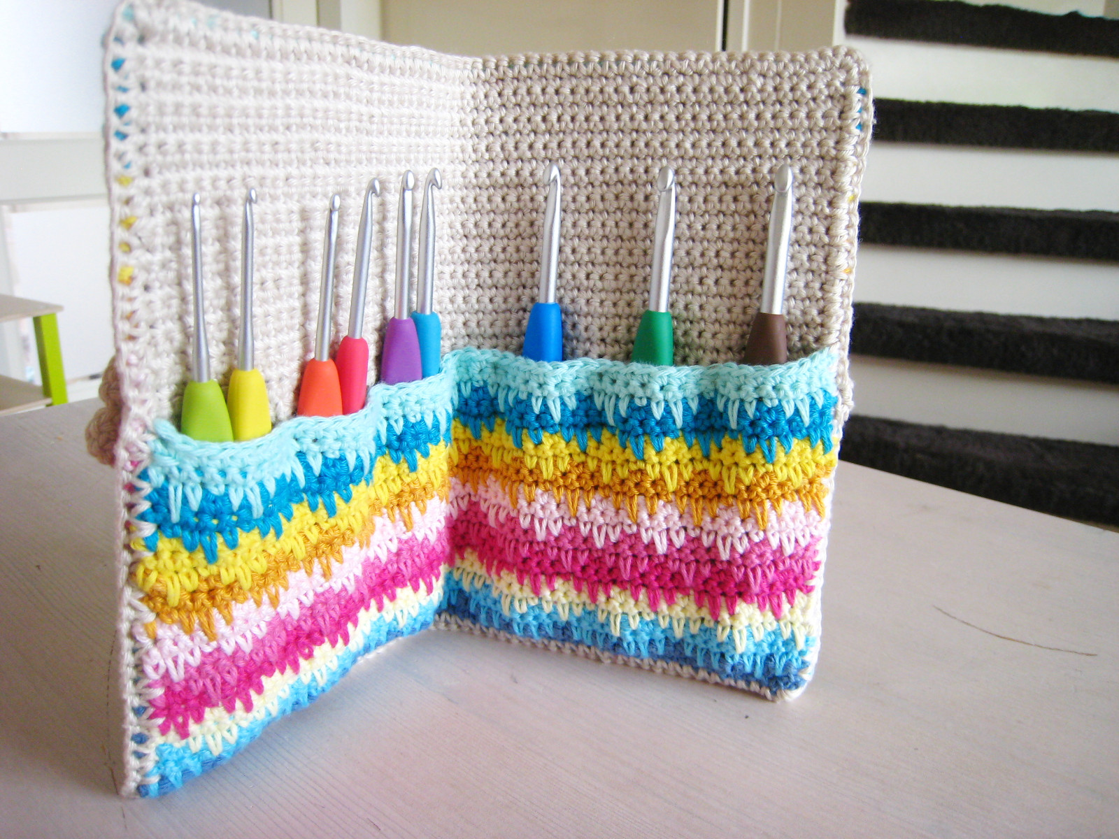 Crochet Hook organizer Inspirational Oh Milly Crochet Hook Case Of Brilliant 43 Photos Crochet Hook organizer